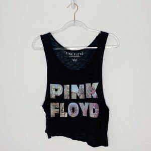 Pink Floyd black graphic band tank Size Large